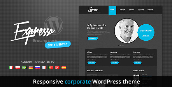 Expresso – Premium Responsive Corporate Theme
