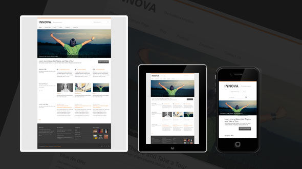 Innova: Business WordPress Theme