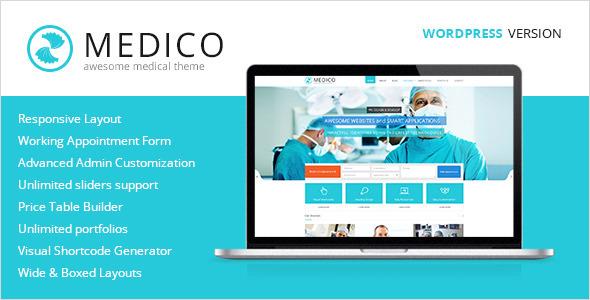 Medico – Medical & Health WordPress Theme