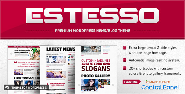 Estesso – Modern Experimental WordPress Theme