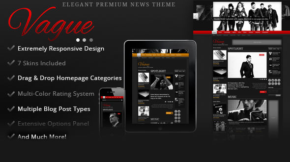 Vague – Premium News Magazine WordPress