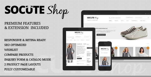 Socute – Minimal Multi-Purpose e-Commerce Theme