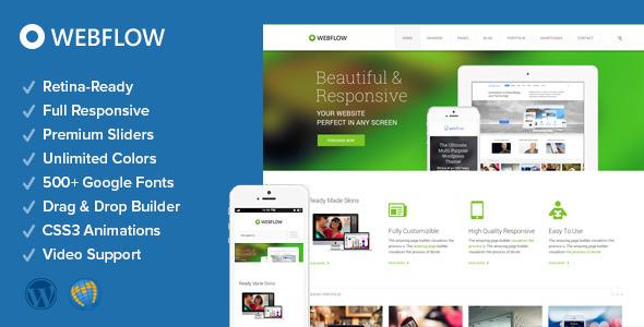 Webflow – Responsive Multi-Purpose Theme