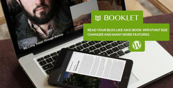 Booklet – Personal Blogging Theme