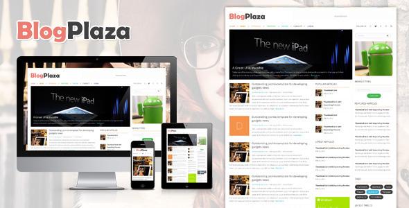 BlogPlaza – Responsive WordPress Theme