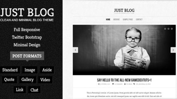 Justblog – Responsive Blog Theme