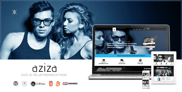 Aziza – Responsive Multipurpose WordPress Theme
