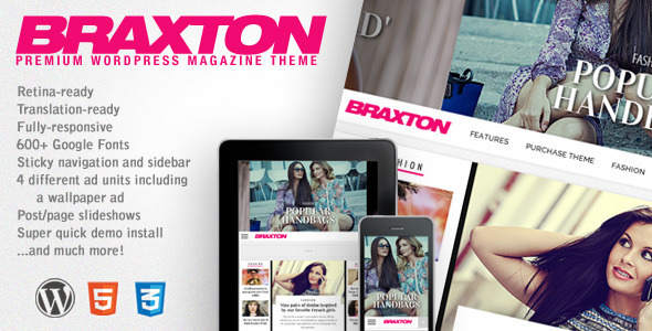 Braxton – Premium WordPress Magazine Theme