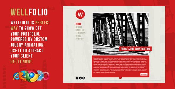 Wellfolio – WordPress Perfect Minimalist Portfolio