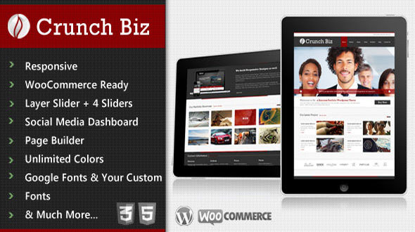 Crunch Biz – Business & E-Commerce WordPress