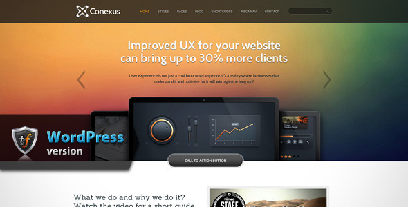 Conexus – Responsive WordPress Theme