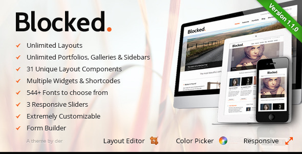 Blocked – Responsive WordPress Theme