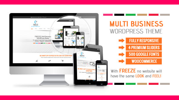Freeze Multi Business WP Theme