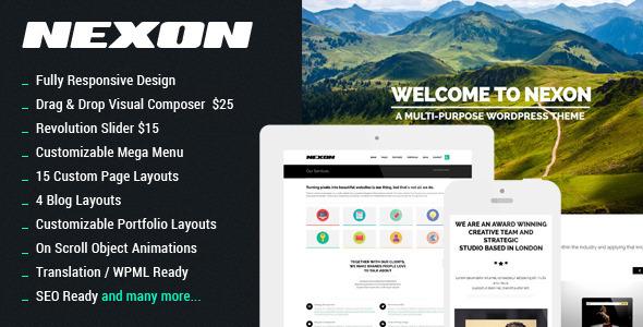 NEXON – Business WordPress Theme