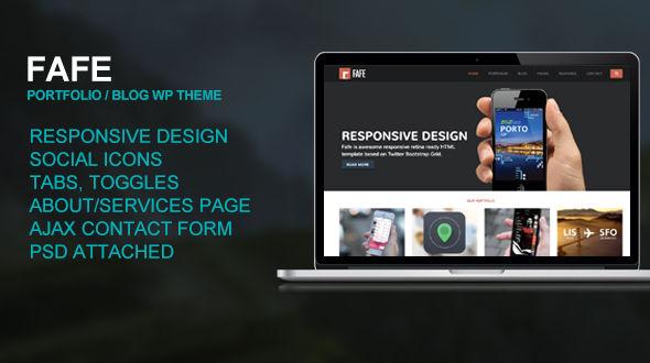 Fafe – Responsive Creative Theme