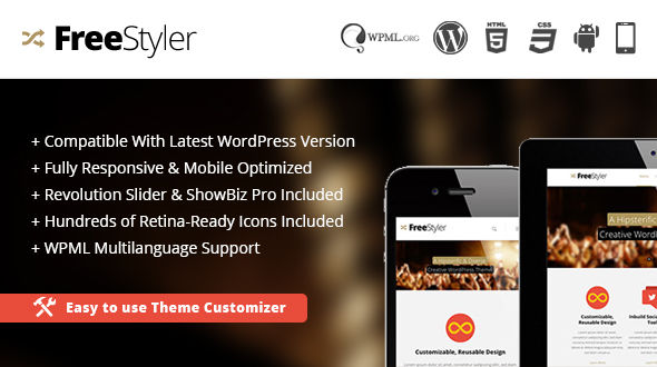 Freestyler – MultiPurpose WordPress Theme