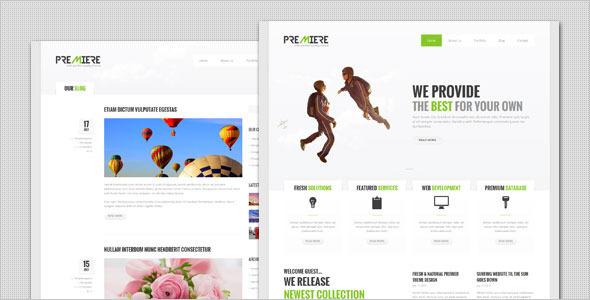 Premiere – Corporate Business WordPress Theme