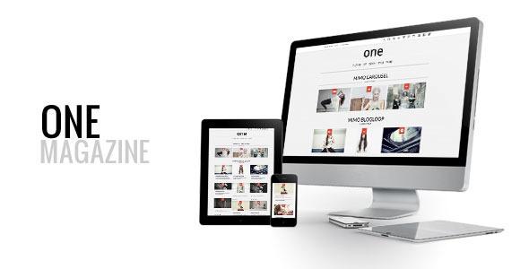 One, Multipurpose Responsive WordPress Magazine