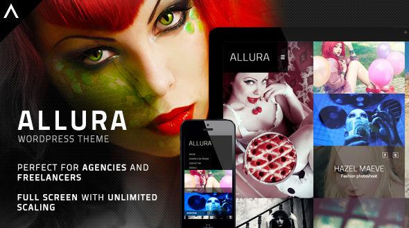 Allura: Minimalist Portfolio Theme