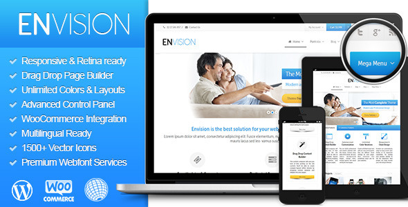 Envision – Responsive Retina Multi-Purpose Theme