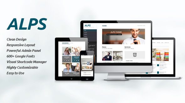 Alps | Responsive Multipurpose Theme