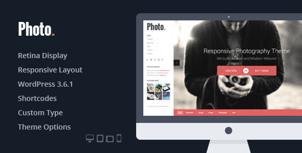 Photo – Responsive Photography WordPress Theme