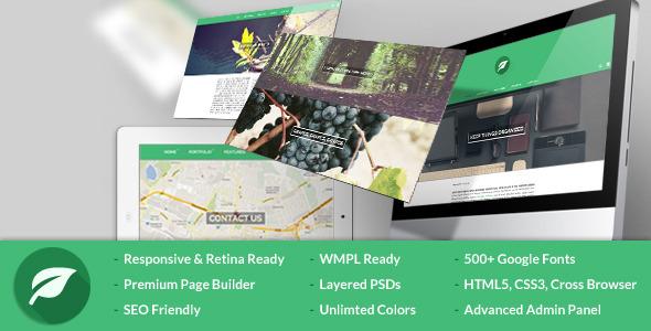 Leaf – Personal Blog & Portfolio WP Theme