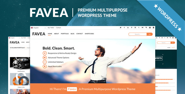 Favea – Multipurpose WordPress Theme
