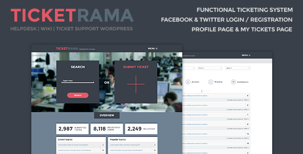 Ticketrama – Helpdesk | Wiki Ticket Support WP
