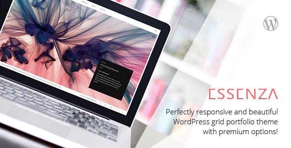 Essenza – Responsive Grid Portfolio Theme