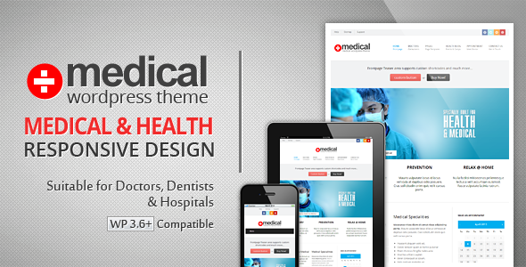 Medical – Premium WordPress Theme