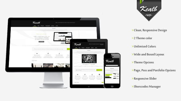 Kcalb | Responsive Multi-Purpose Theme