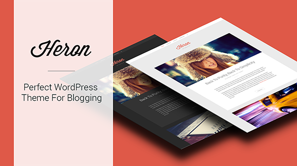 Heron – Responsive WordPress Theme For Blogging