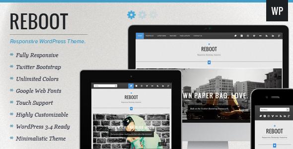 Reboot – Responsive Portfolio WordPress Theme