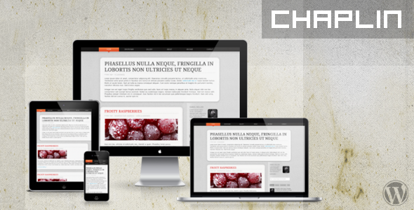 Chaplin WP – Responsive WordPress Theme