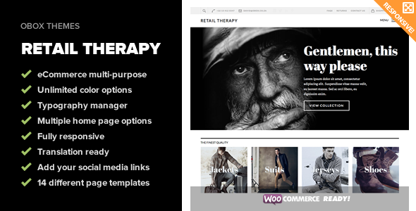 Retail Therapy – Multi-Purpose eCommerce Theme