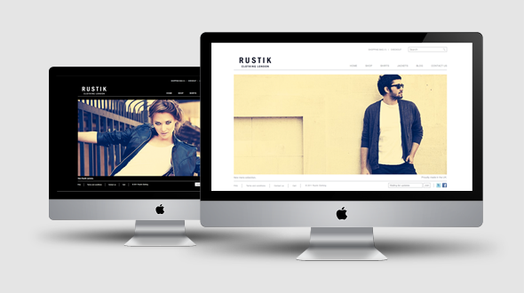 Rustik – Minimalist WP e-Commerce Theme