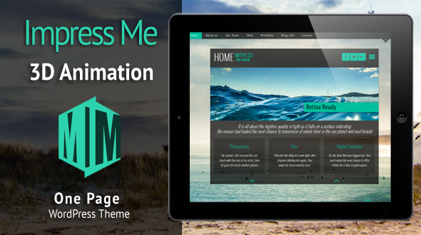 Impress Me WordPress Theme