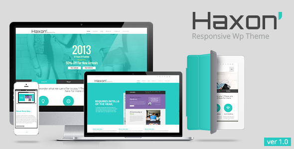 Haxon – Responsive Business Theme