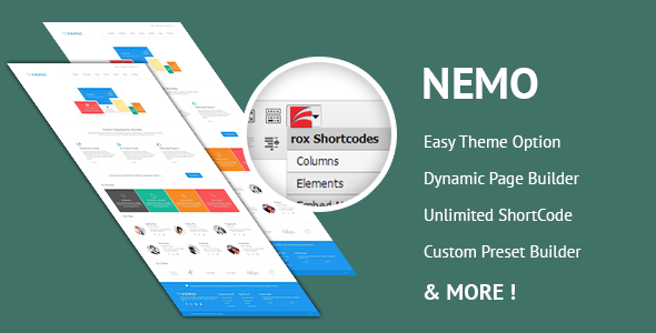 Nemo White Premium WordPress Theme