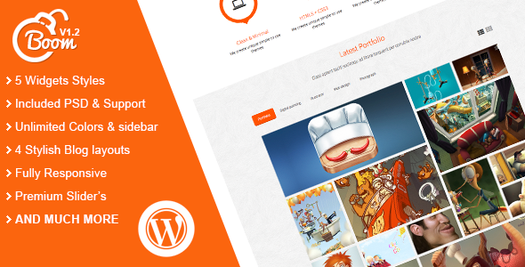 Boom – Responsive Multi-Purpose WordPress Theme