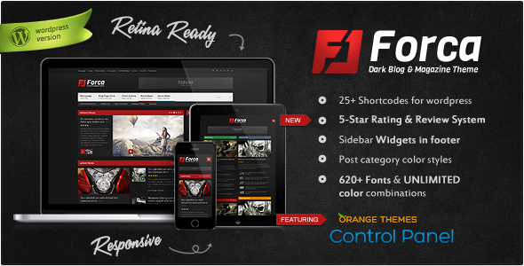 Forca – Responsive News/Magazine Theme