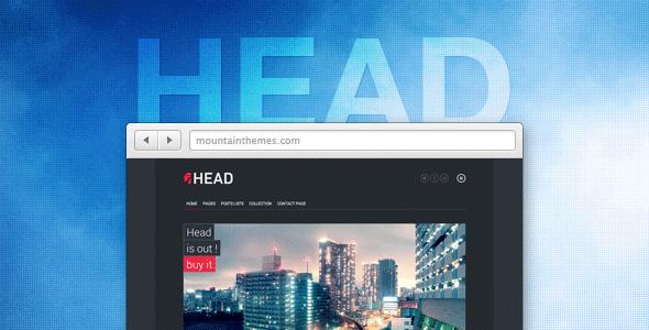 Head – Responsive, Retina & Page Builder