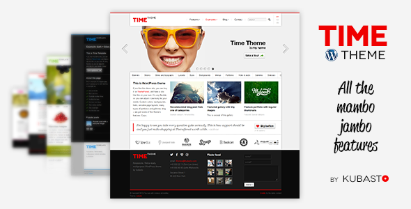 Time – Responsive WordPress Theme