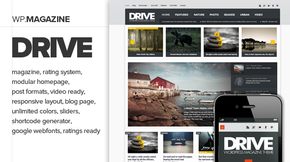Drive – Premium and Responsive WordPress Magazine