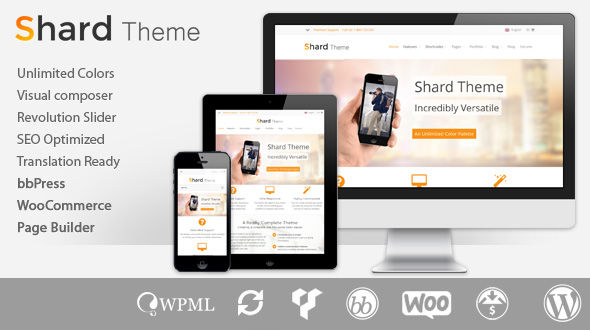 Shard – Responsive Multipurpose WordPress Theme