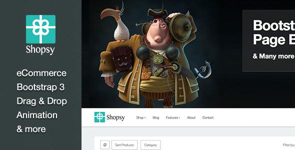 Shopsy – Responsive eCommerce Theme