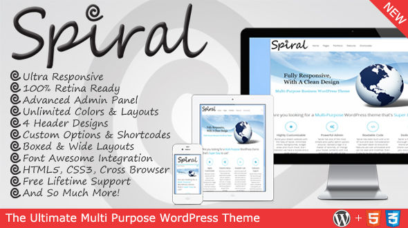 Spiral – Responsive Multi-Purpose Theme