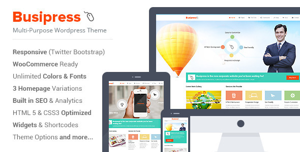 Busipress – Responsive Multi-Purpose Theme