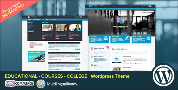 EDU – Educational, Courses, College WP Theme